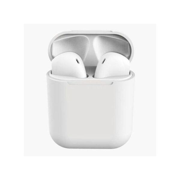 Écouteurs Sans Fil Bluetooth V5.0 I12 – Blanc