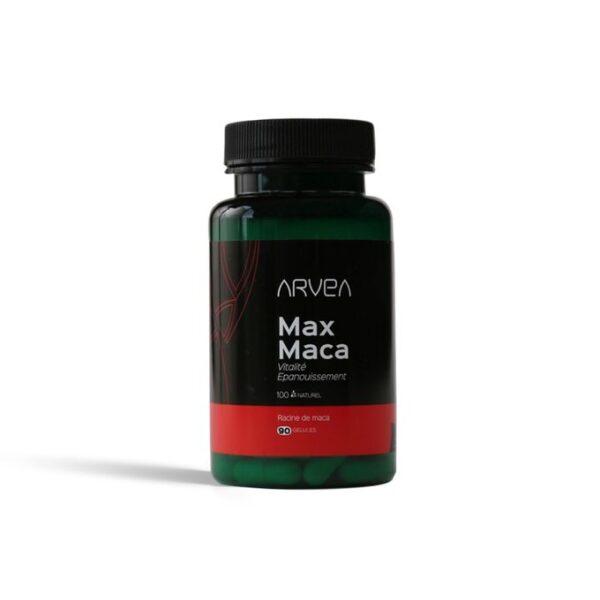 Arvea Max maca – 90 Gélules