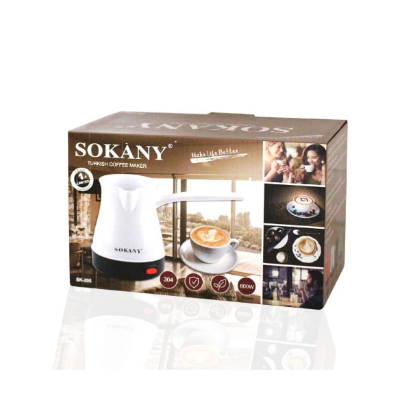 Cafetière électrique 600W 0.5 Litre SOKANY