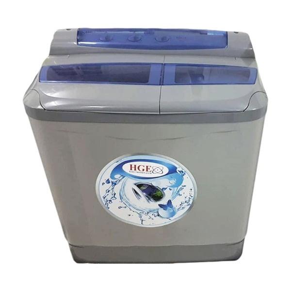 Machine a laver HGE 11 kg - Gris et bleu