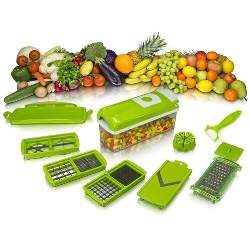 Nicer Dicer Plus Découpe Légumes & Fruits 12 Pièces