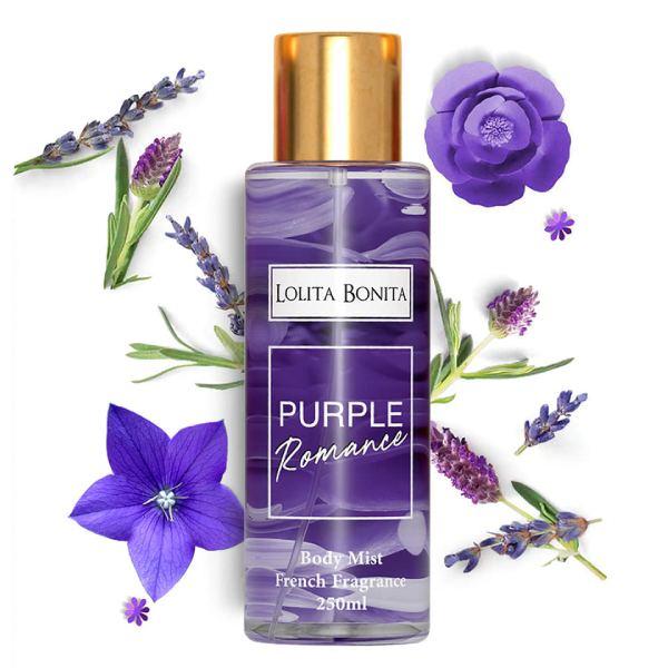 Parfum Corp Lolita Bonita PURPLE ROMANCE 250ml - Femmes