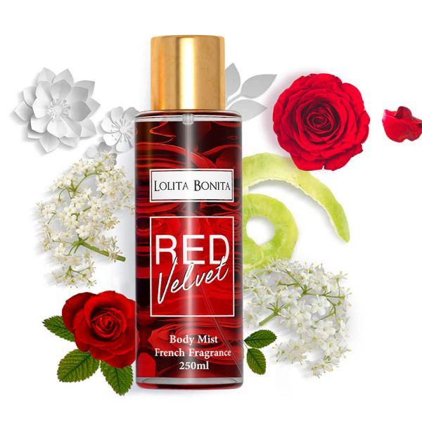 Parfum Corps Lolita Bonita RED VELVET 250ml - Femmes