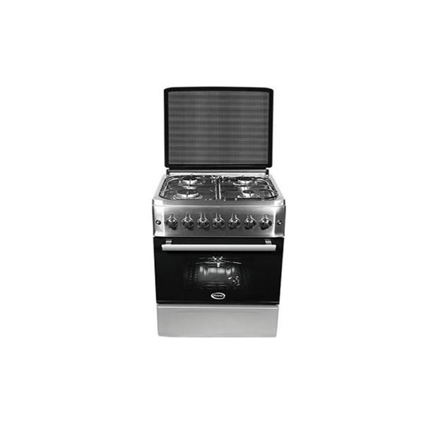 Cuisinière à gaz Orient 4 feux 60 cm - Inox