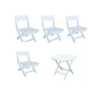 Table et 4 chaises Ruspina