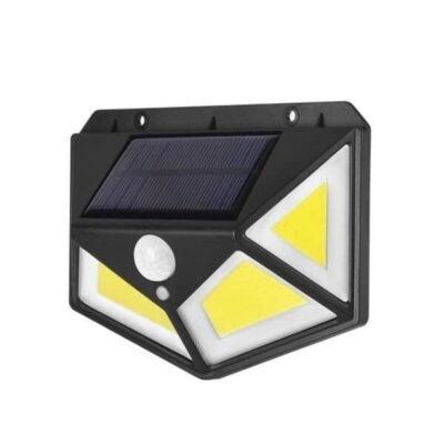 Lampe Solaire 100 LED avec détecteur de mouvement