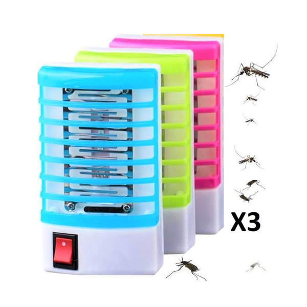 Lot de 3 lampes anti-moustique