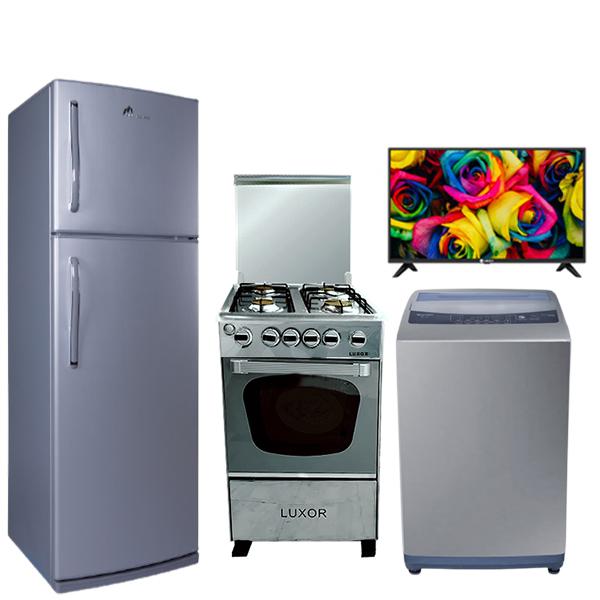 promotion-pack5-machine-a-laver-8kg-top-condor-gris-refrigerateurFG30 MONTBLANC GRIS-gris-TV32VEGA-cuisiniereluxor-inox-electromenager-cuisine-tunisie