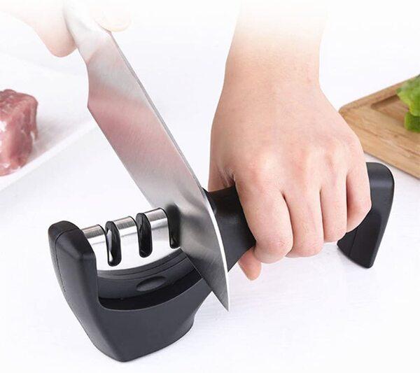 Aiguiseur couteau 3 en 1