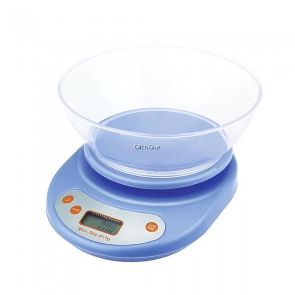 Balance de cuisine 5Kg - Bleu